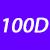 100 D