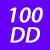 100 DD