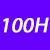 100 H