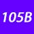 105 B