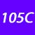 105 C