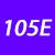 105 E