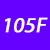 105 F