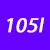 105 I