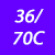 36/70 C