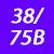 38/75 B