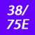 38/75 E
