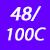 48/100 C