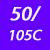 50/105 C