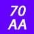 70 AA