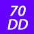 70 DD