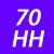 70 HH