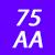 75 AA