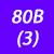 80 B (3)