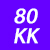 80 KK