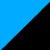 Голубой+черный