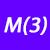 M (3)