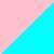 Розовый + голубой