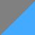Серый + голубой