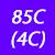 85 C(4C)