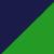 Темно-синий + зеленый