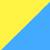 Желтый + голубой